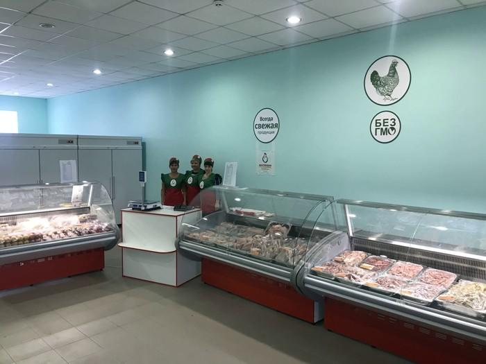 Открыт магазин  Объединения «Торговый дом «Шахтерская птицефабрика»  в пгт. Тельманово.