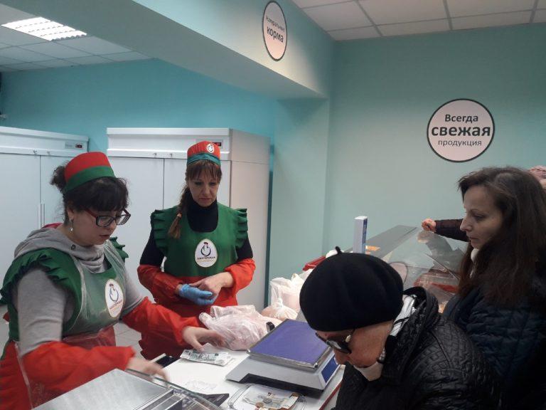 В Киевском районе Донецка открылся фирменный магазин Объединения «ТД «Шахтерская птицефабрика»