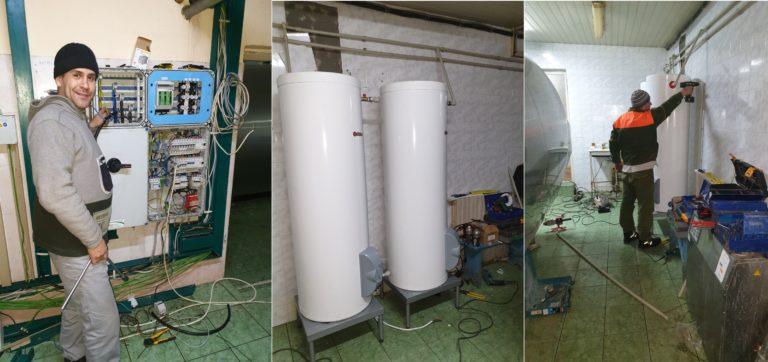 На ГП «Заря Агро» приступили к монтажу новой линии молокодоения
