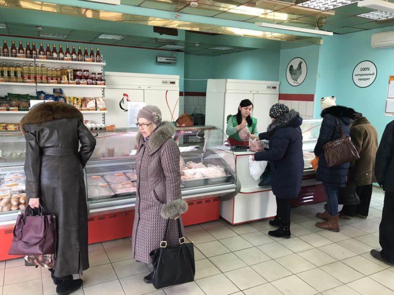 13 марта в Макеевке откроется фирменный магазин Объединения «ТД «Шахтёрская птицефабрика»
