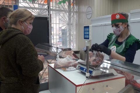 В Червоногвардейском районе Макеевки открылась торговая точка «ТД «Шахтёрская птицефабрика» (видео)