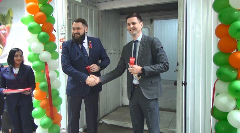 В Дебальцево открылся фирменный магазин «ТД «Шахтёрская птицефабрика» (видео)