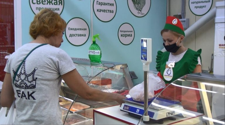 В Макеевке на ул.Ленина, д.20б открылась торговая точка Объединения «ТД «Шахтёрская птицефабрика» (видео)