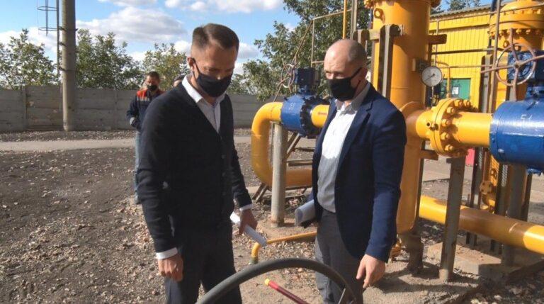 Восстановлена газораспределительная станция, обеспечивающая газом ГП «Шахтёрская птицефабрика» (видео)